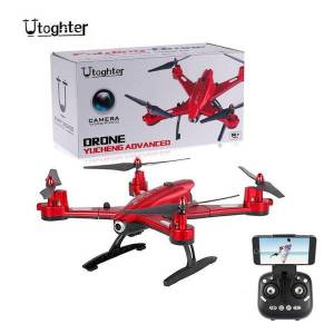 DHgate utoghter 69508 2.0mp wide-angle camera wifi fpv foldable rc drone 2.4g 4ch 6-axis gyro g-sensor selfie rtf quadcopter drones