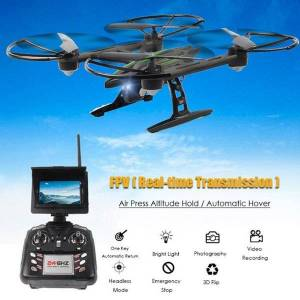 DHgate fpv rc drone with 2.0mp hd camera automatic air pressure high headless mode one key return helicopter drones
