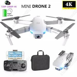 DHgate super e59 rc led mini controlled with accessoires drone 4k hd video camera aerial pgraphy helicopter aircraft 360 degree flip wifi long batt