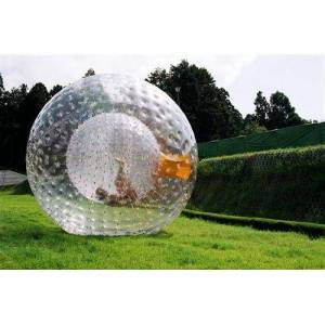 DHgate ( specialty store) zorb ball 2.5 m and 3 mdiameter human hamster ball 0.8 mm pvc material outdoor game inflatable ball inflatable toy
