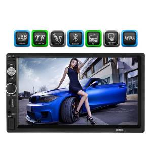 DHgate 7 inch universal 2 din hd bluetooth car autoradio mp5 player multimedia radio entertainment usb/tf fm aux input car dvd