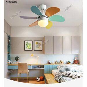 DHgate nordic fan lights ceiling fan lights mute living room bedroom children's room lamps cd50 w03