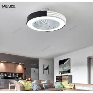 DHgate ceiling ceiling fan light simple bedroom with fan led light integrated mute invisible home side dining restaurant cd50 w07