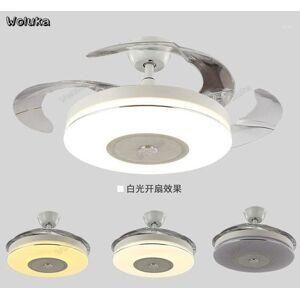 DHgate ceiling fan light ultra-thin living room dining room bedroom mute remote control modern minimalist fan ceiling light cd50 w071