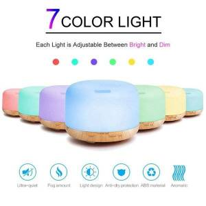 DHgate humidifiers 300ml air humidifier essential oil diffuser ultrasonic cool mist maker fogger led lamp aroma electric