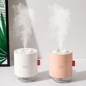 DHgate portable ultrasonic humidifier 500ml snow mountain h2o usb aroma air diffuser with romantic night lamp humidificador difusor