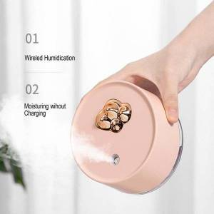 DHgate humidifiers portable room fragrance two spraying mode air humidifier 300ml water capacity for home car freshener low noise oil burner