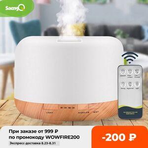 DHgate saengq electric aroma diffuser air humidifier 300ml 500ml 1000ml ultrasonic cool mist maker fogger led essential oil diffuser
