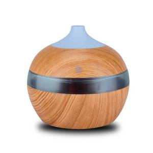 DHgate humidifiers 300ml mini usb air humidifier essential oil diffusers wood electric with led night light mist maker for home