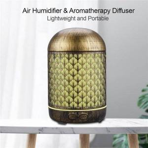 DHgate humidifiers jvjh ultrasonic aromatherapy oil diffuser 300ml with 7 color led lights and waterless auto shut-off for home office