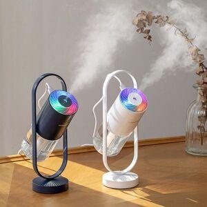 DHgate 200ml magic shadow humidifier 360 degree mist spray projector lamp ultrasonic cool mist maker aroma diffuser usb humidificador