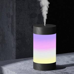 DHgate humidifiers 300ml dazzling cup usb air humidifier night light aromatherapy moisturizer water replenishment instrument home car atomizer#20