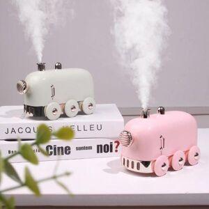 DHgate humidifiers 300ml mini train ultrasonic humidifier retro usb aroma air diffuser essential oil mist maker fogger with color led light