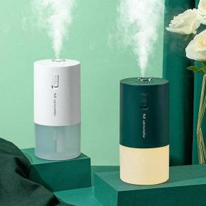 DHgate humidifiers wireless aroma aromatherapy diffuser mini usb air humidifier 300ml rechargeable with led night light