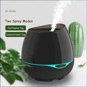 DHgate humidifiers 300ml essential oil aroma diffuser ultrasonic cool mist maker fogger with led lamp aromatherapy air humidifier for home office