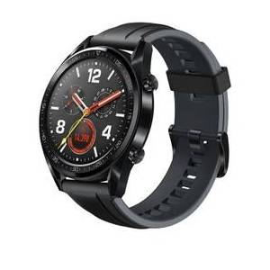 Geekbuying HUAWEI WATCH GT Sports Smart Watch 1.39 Inch AMOLED Colorful Screen Heart Rate Monitor Built-in GPS - Black