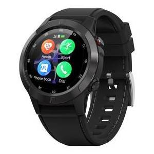 Geekbuying MAKIBES M4C Smart Watch GPS Bluetooth Heart Rate Monitor Call Message Reminder Music Player - Black
