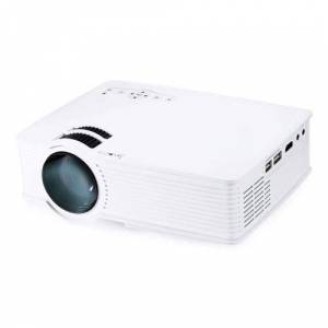 Geekbuying H909 LED Projector 1000 Lumen 800*480 Pixels Support HD 1080P with TF Card / USB / HDMI / AV Input - White