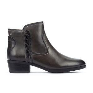PIKOLINOS leather Ankle Boots DAROCA W1U  - GRIS - Size: 8.5-9
