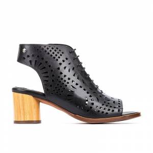 PIKOLINOS leather Ankle Boots ROTA W6X  - NEGRO - Size: 9.5-10