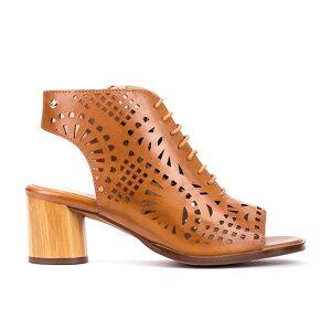 PIKOLINOS leather Ankle Boots ROTA W6X  - MARRON CLARO - Size: 8.5-9