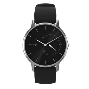 Withings Move Timeless Chic, 38mm, Black & Silver - Activity tracking watch - Sleep analysis, Water resistant - Withings Official Store