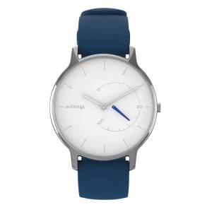 Withings Move Timeless Chic, 38mm, White & Silver - Activity tracking watch - Sleep analysis, Water resistant - Withings Official Store
