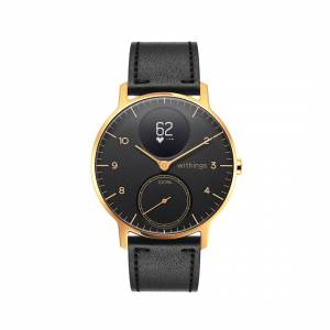 Withings Steel HR Limited Edition, 36mm, Black & Gold - Hybrid Smartwatch - Heart rate & Smartphone notifications - Withings Official Store