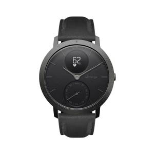 Withings Steel HR Limited Edition, 40mm, Black & Slate Grey - Hybrid Smartwatch - Heart rate & Smartphone notifications - Withings Official Store
