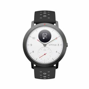 Withings Steel HR Sport, White - Multisport Hybrid Smartwatch - Heart rate tracking, Connected GPS, Notifications - Withings Official Store