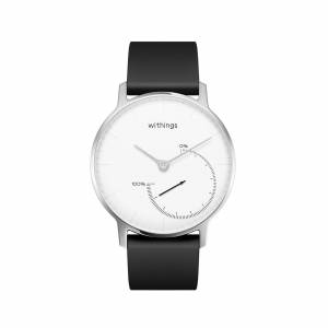 Withings Steel (Nokia), White - Activity & Sleep Tracking Watch - No charging, Water resistant - Withings Official Store