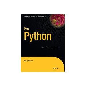 Marty Alchin Pro Python  Soft cover