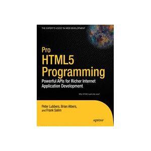 Apress Pro HTML5 Programming