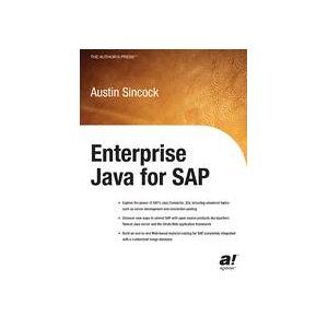 Austin Sincock Enterprise Java for SAP  Hard cover