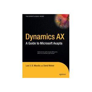David Weiner Dynamics AX  Hard cover