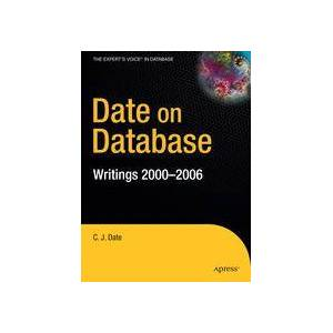 Christopher Date Date on Database  Hard cover