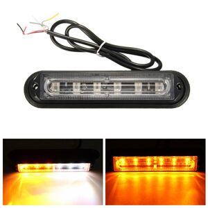 Eachine1 6 LED Car Trailer Boat Emergency Light Bar Hazard Flashing Strobe Warning Lamp