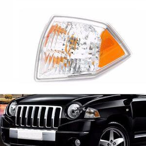 jeep Left Side Marker Parking Turn Signal Corner Light For Jeep Compass 07-10