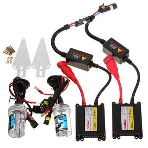 Eachine1 Pair H7 35W Car HID Xenon Headlights Kit Lamps with Ballasts 4300K 5000K 6000K 8000K 10000K 12000K