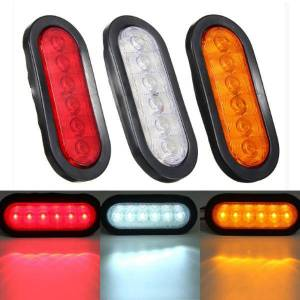 Eachine1 LED Turn Light Stop Tail Lamp Sealed Surface Mount For Car Trailer Truck