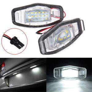 Honda 2x LED License Plate Light For Honda Civic Accord Odyssey Pilot Acura TL TSX MDX