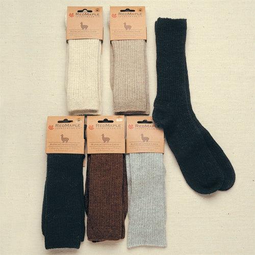 RM Copper Crew Alpaca Socks