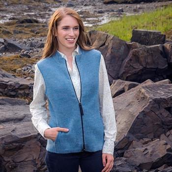 RM Women's Ridgeport Zip Alpaca Vest