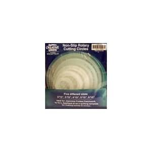 Creative Labs Grids Quilting Ruler Circles (5 Discs with Grips)