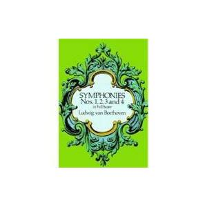 Dover Publications Symphonies Nos. 1, 2, 3 and 4 in Full Score