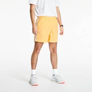 adidas Originals Adicolor Classics 3-Stripes Swim Shorts Hazy Orange  - Orange - Size: Small
