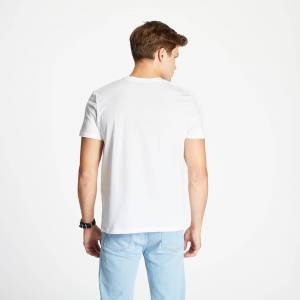 A.P.C. A. P. C. David Tee White  - White - Size: Medium
