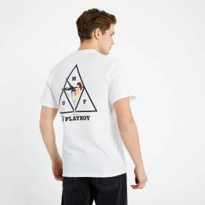 HUF x Playboy Playmate TT S/S TEE White  - White - Size: 2X-Large