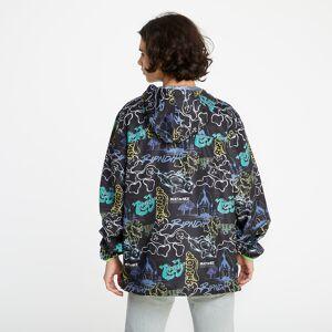 RIPNDIP Goalasso Packable Fanorak Jacket Black  - Multicolour - Size: Extra Large