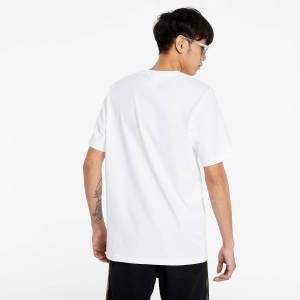 adidas Originals adidas Camo Trefoil Tee White/ Wild Pine Mel/ Multicolor  - White - Size: Large